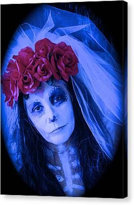The Bride Waits Canvas Print