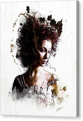 The Bridesmaid Canvas Print by Gary Bodnar