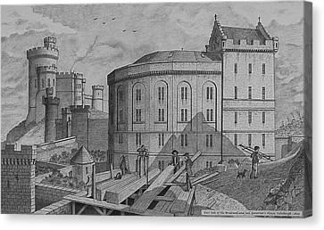 The Bridewell. Edinburgh Canvas Print