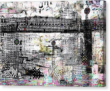 The Bridge II Canvas Print by Andy  Mercer