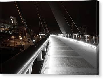 The Bridge Canvas Print by Joshua Enomoto