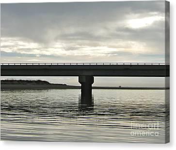 The Bridge Canvas Print by Paul Foutz