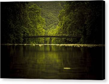 The Bridge Canvas Print by Shane Holsclaw