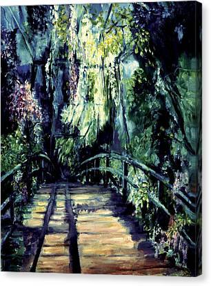 The Bridge Canvas Print by Shari Silvey