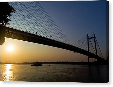 The Bridge Canvas Print by Sourav Bose
