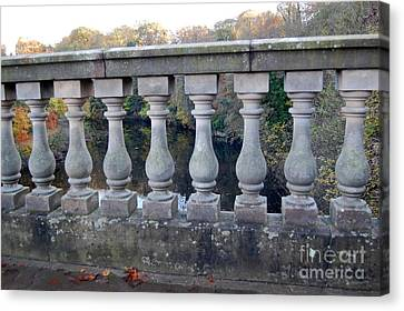 Canvas Print featuring the photograph The Bridge To Knowledge by Linda Prewer