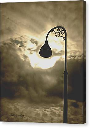 The Bright Light Of The Heavens Canvas Print