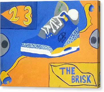 The Brisk Canvas Print by Mj  Museum