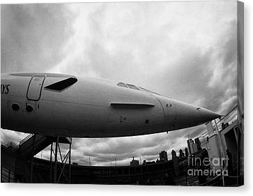 the British Airways Concorde nose Canvas Print
