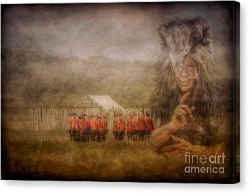 The British Are Here Canvas Print