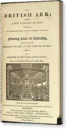 The British Ark Canvas Print