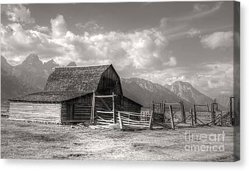 The Broken Fence Canvas Print by Kathleen Struckle
