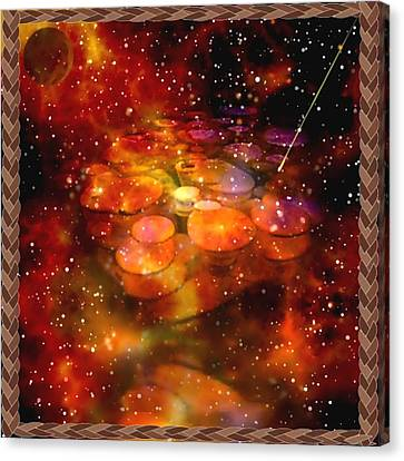 The Bubble Galaxy Canvas Print by Mario Carini