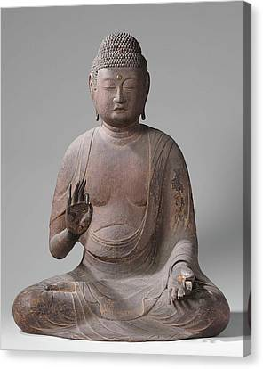 The Buddha Amida, Anonymous Canvas Print by Quint Lox
