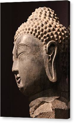 Canvas Print featuring the photograph The Buddha 2 by Lynn Sprowl