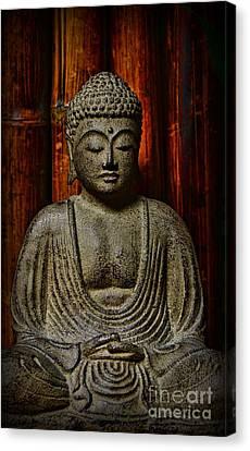 The Buddha Canvas Print by Paul Ward