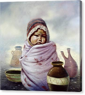 The Bundle Canvas Print by Gregory Perillo