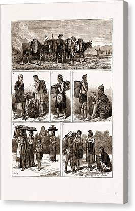 The Burmese Frontier Difficulty Canvas Print by Litz Collection