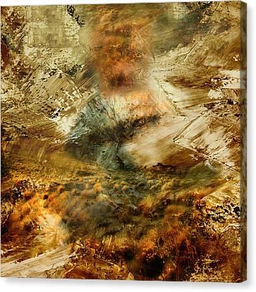 The Burning Bush - Abstract Realism Canvas Print