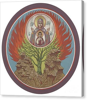 Canvas Print featuring the painting The Burning Bush 249 by William Hart McNichols