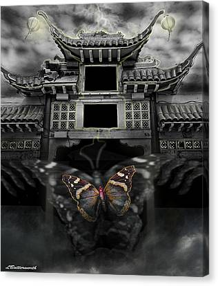 The Butterfly Effect Canvas Print by Larry Butterworth
