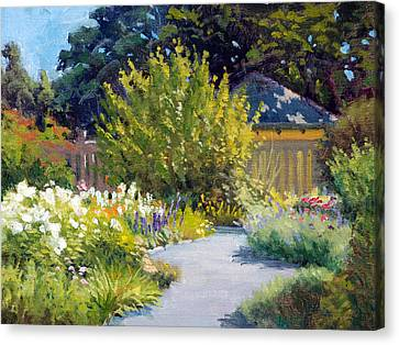Charlotte Canvas Print - The Butterfly Garden by Armand Cabrera