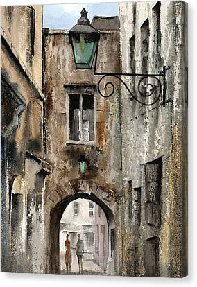 Kilkenny  The Butterslip   Canvas Print