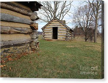 The Cabins Canvas Print