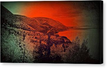 The Cabot Trail Canvas Print