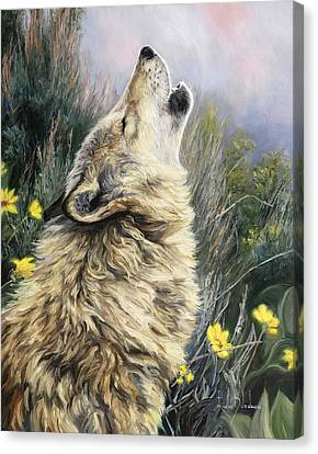 The Call Canvas Print by Lucie Bilodeau