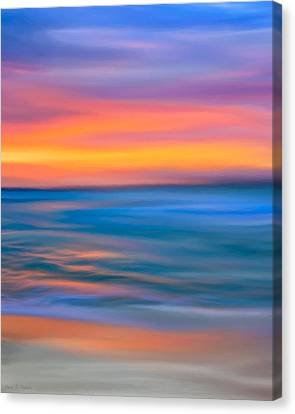 The Call Of Distant Seas Canvas Print by Mark E Tisdale
