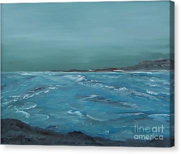 The Calm Before Canvas Print by Geralyn Willingham
