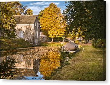 Historic Site Canvas Print - The Canal Explorer by Eduard Moldoveanu
