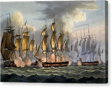 The Capture Of La Raison Canvas Print