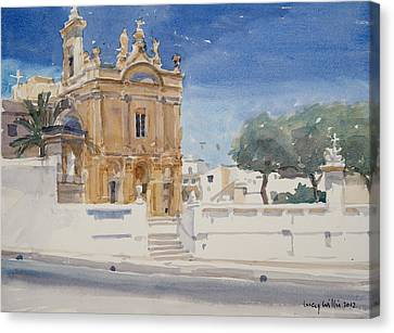The Capuccini Church Canvas Print by Lucy Willis