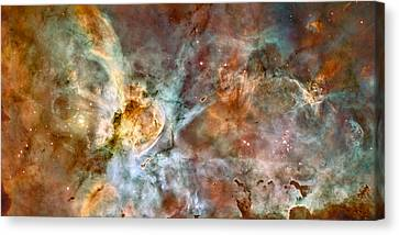 The Carina Nebula Canvas Print