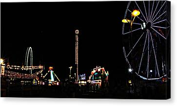 The Carnival Canvas Print by Jp Grace
