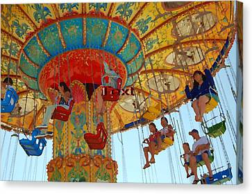 The Carnival Canvas Print by Tamyra Crossley