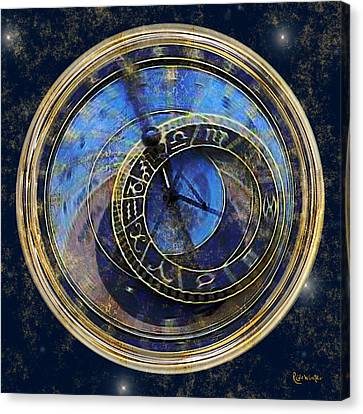 The Carousel Of Time Canvas Print by RC deWinter