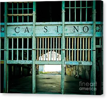 The Casino Canvas Print