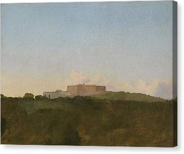 The Castel Santelmo, Naples Canvas Print by Edgar Degas