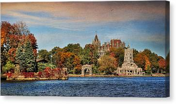The Castle Of Love Canvas Print by Lori Deiter