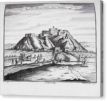 The Castle Of Putala Canvas Print by British Library