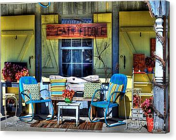The Cat And The Fiddle Canvas Print