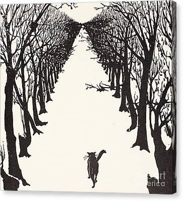 The Cat That Walked By Himself Canvas Print by Rudyard Kipling