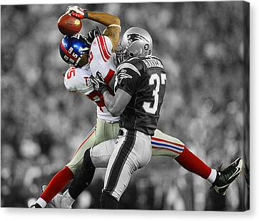 The Catch Canvas Print by Brian Reaves