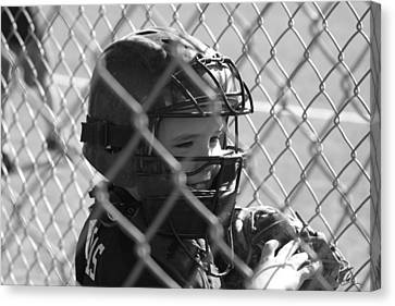 The Catcher Canvas Print by Chris Thomas