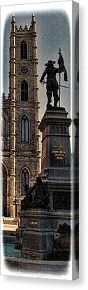 The Cathedral-basilica Of Mary Queen Of The World  Canvas Print