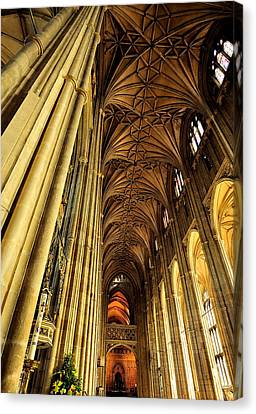 The Cathedral Canvas Print by Marwan Khoury