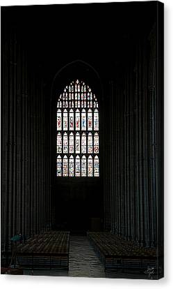 The Cathedral Sits Empty Canvas Print by Lisa Knechtel